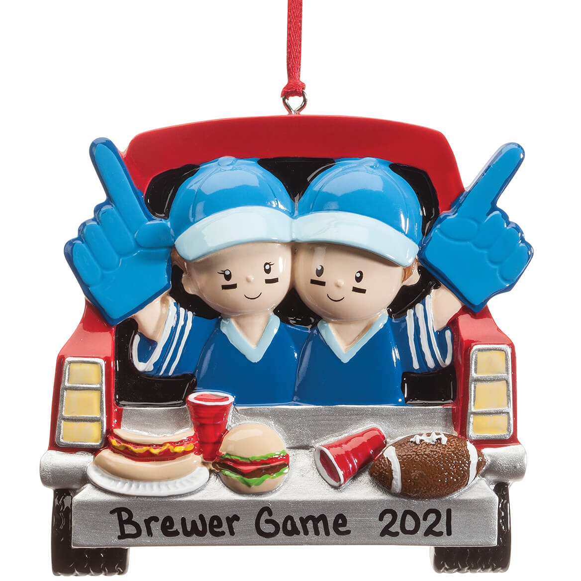 Personalized Tailgater Ornament-364214