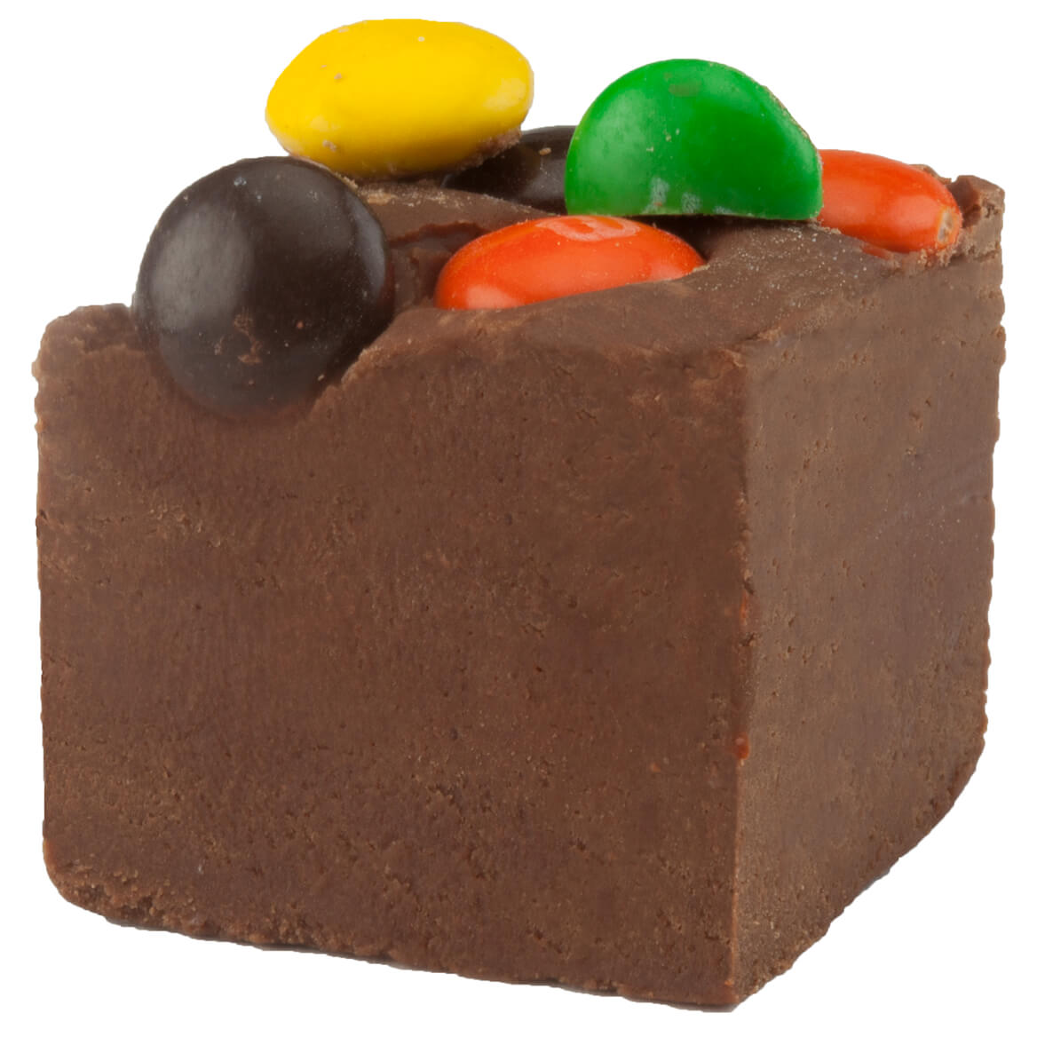 Chocolate M&M Fudge