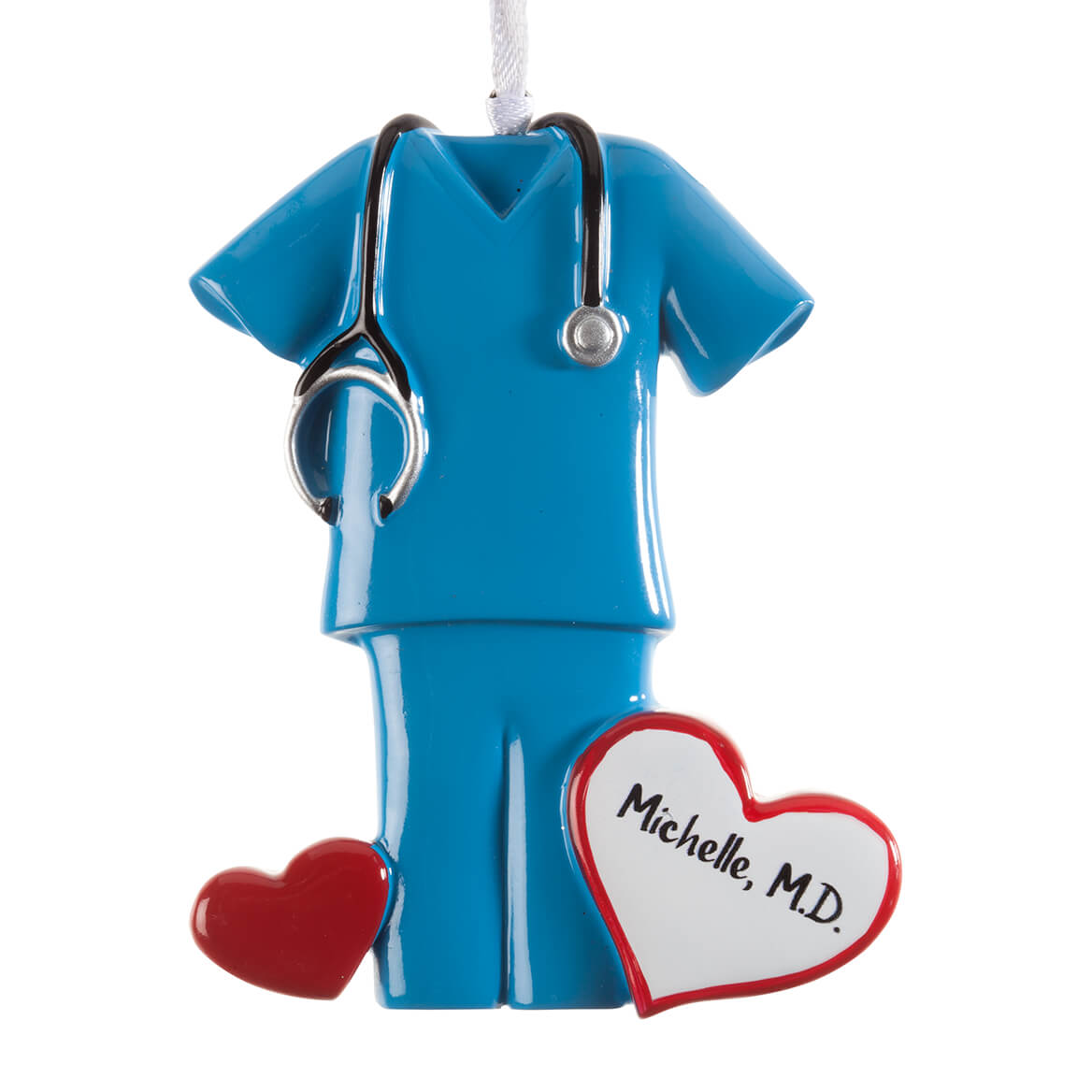 Personalized Blue Scrubs Ornament-364422
