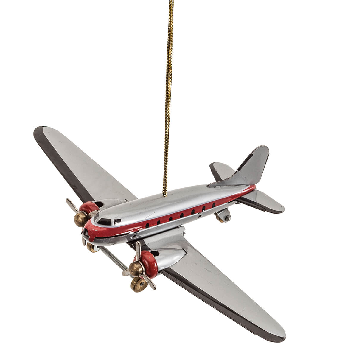 Personalized Airplane Christmas Ornaments