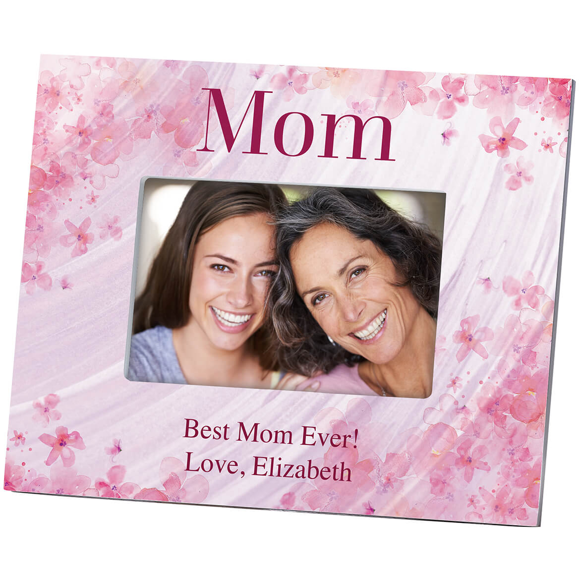 Personalized Flowers-a-Flutter Mother Frame-364637