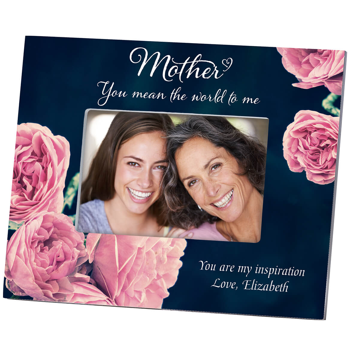 Personalized Mother English Rose Frame-364644