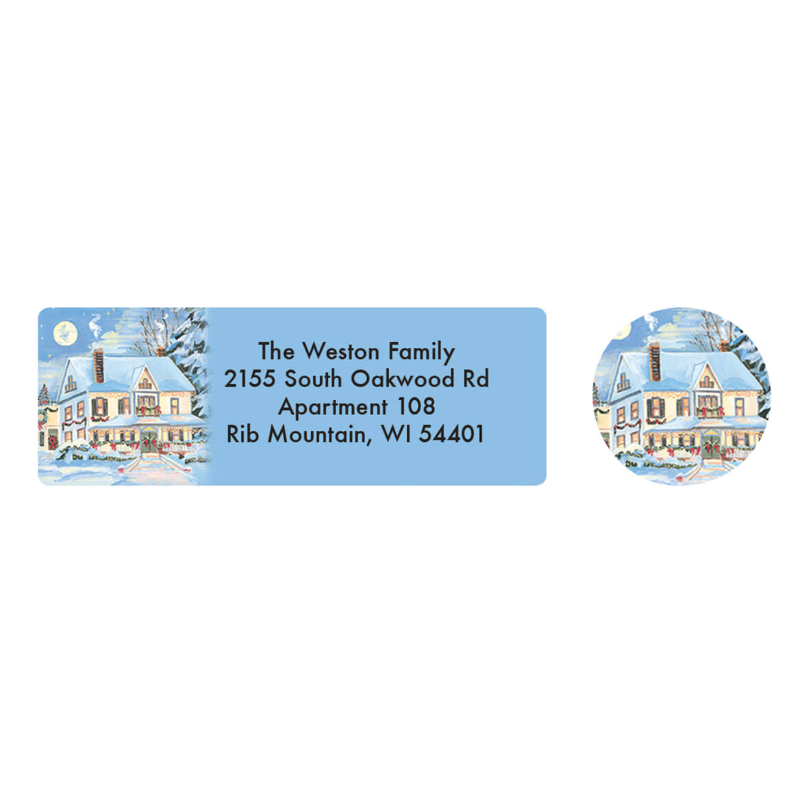 Personalized Said a Prayer Address Labels & Seals 20-364712