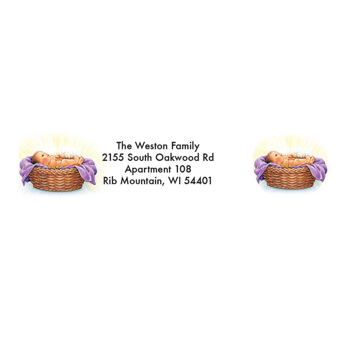 Personalized Share the Love of Jesus Labels & Seals 20-364759