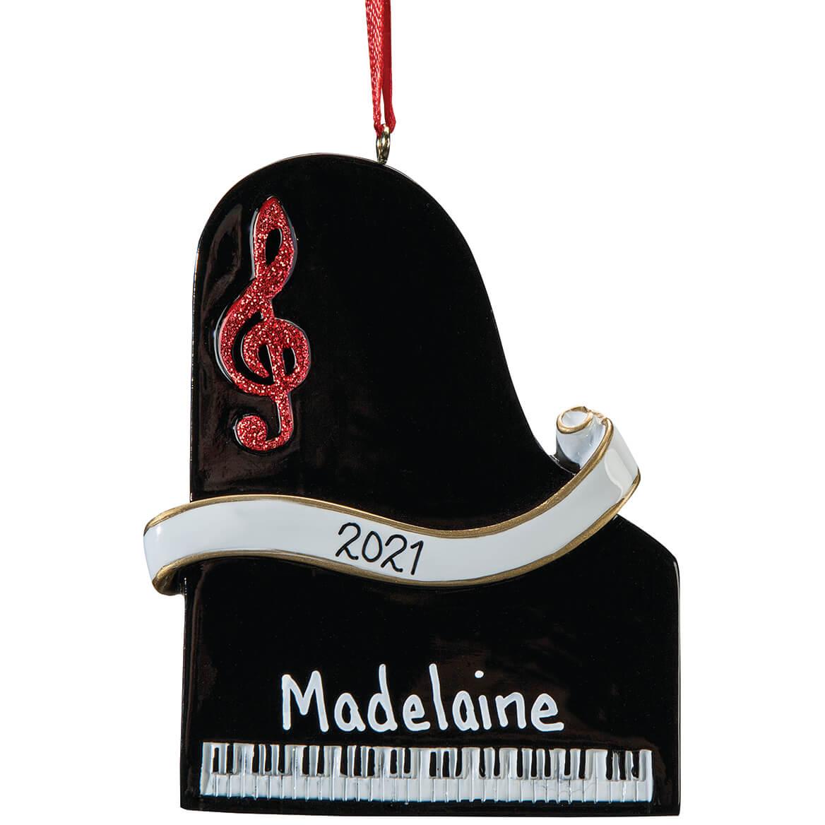 Personalized Piano Ornament-364872