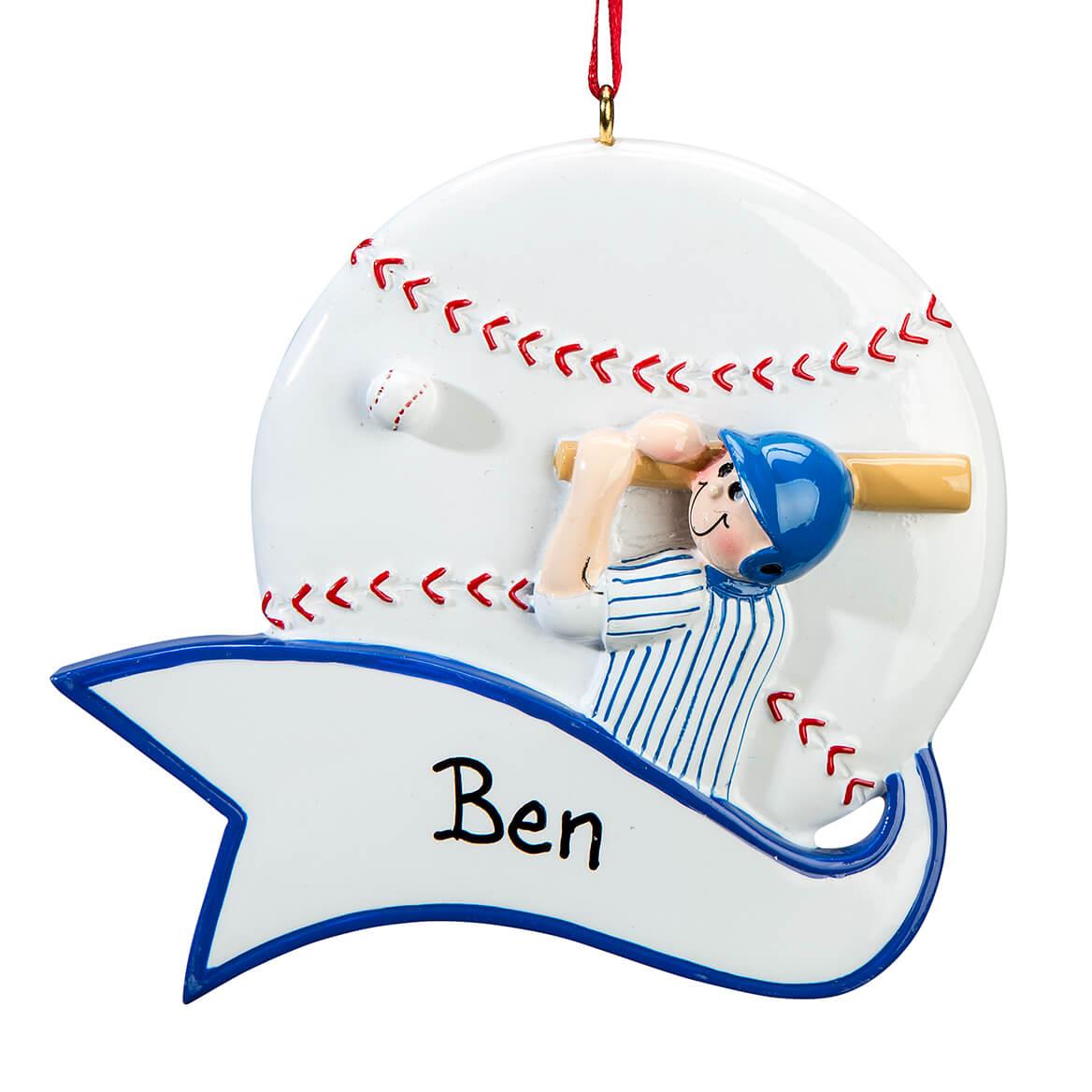 Personalized Baseball Ornament-364918