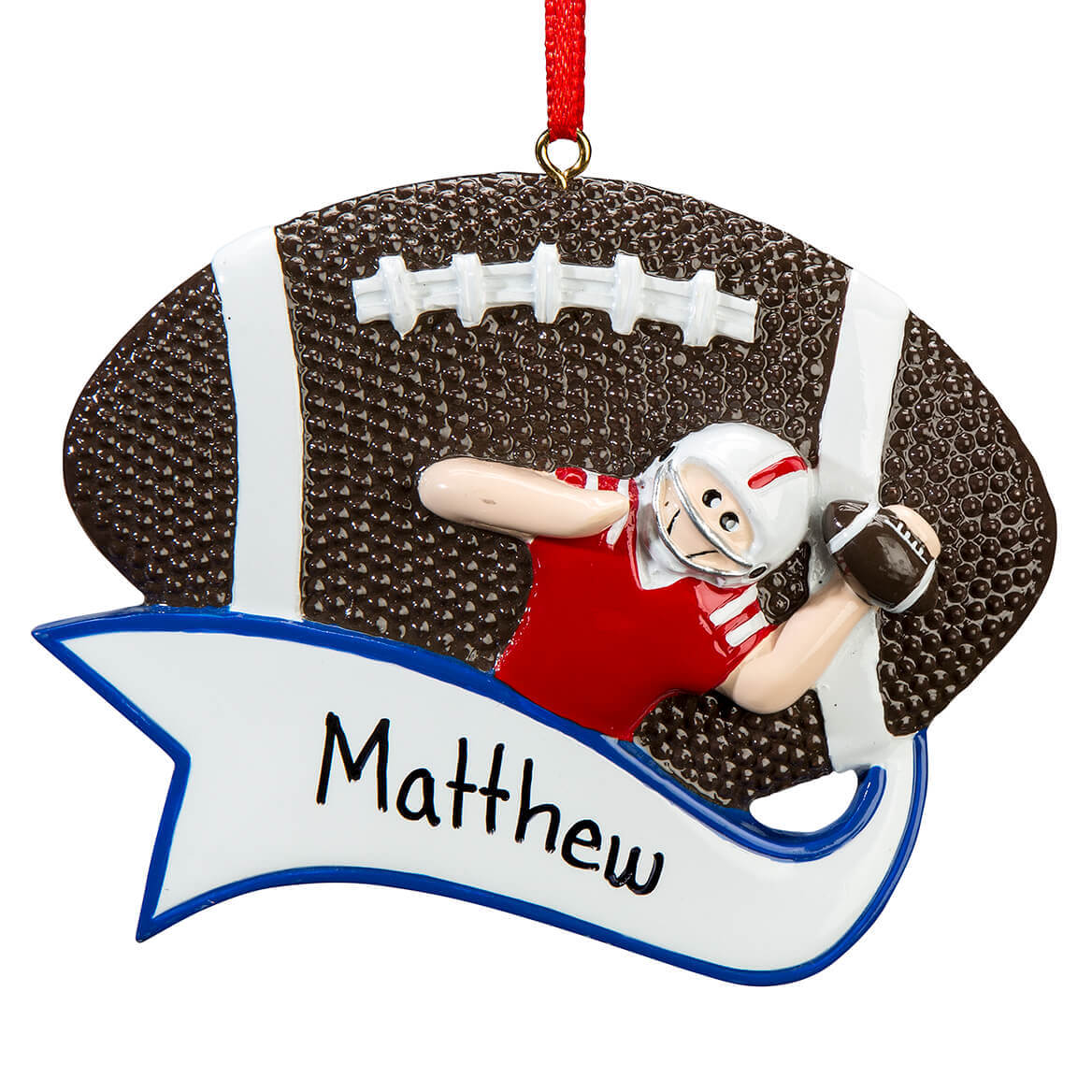 Personalized Football Ornament-364920