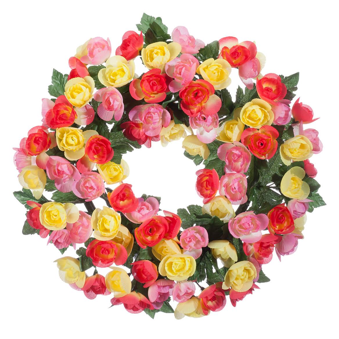 "15"" Begonia Wreath By OakRidge™-365031"