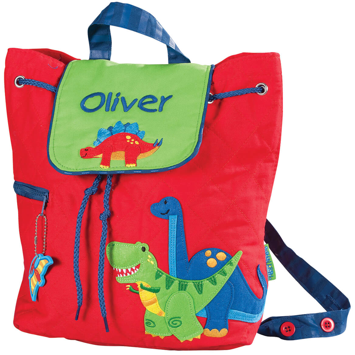 Personalized Stephen Joseph Dinosaur Quilted