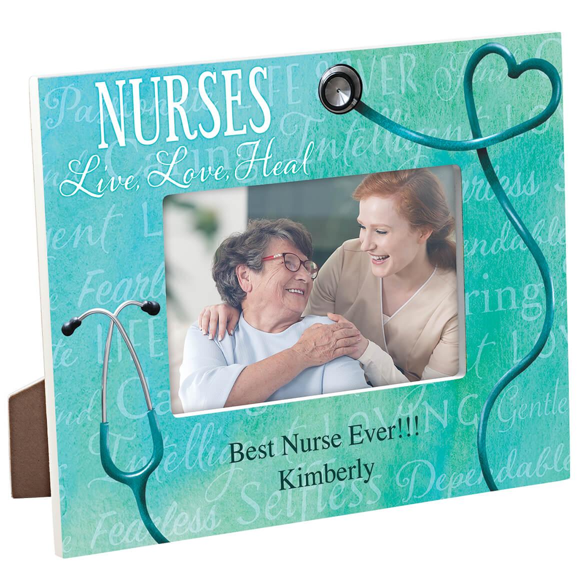 Personalized Nursing Word Art Frame-365636