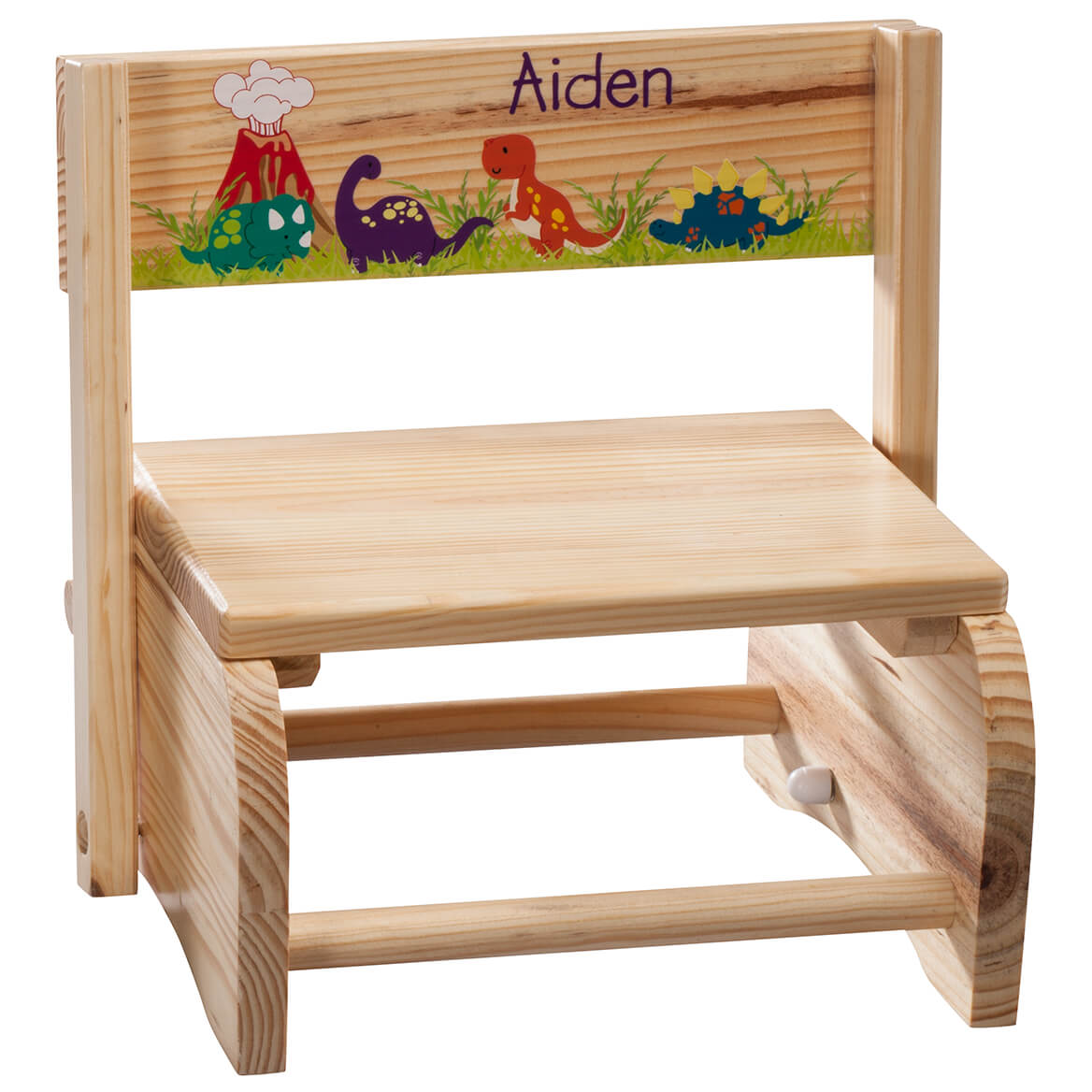 Personalized Children's Dinosaur Step Stool-365672
