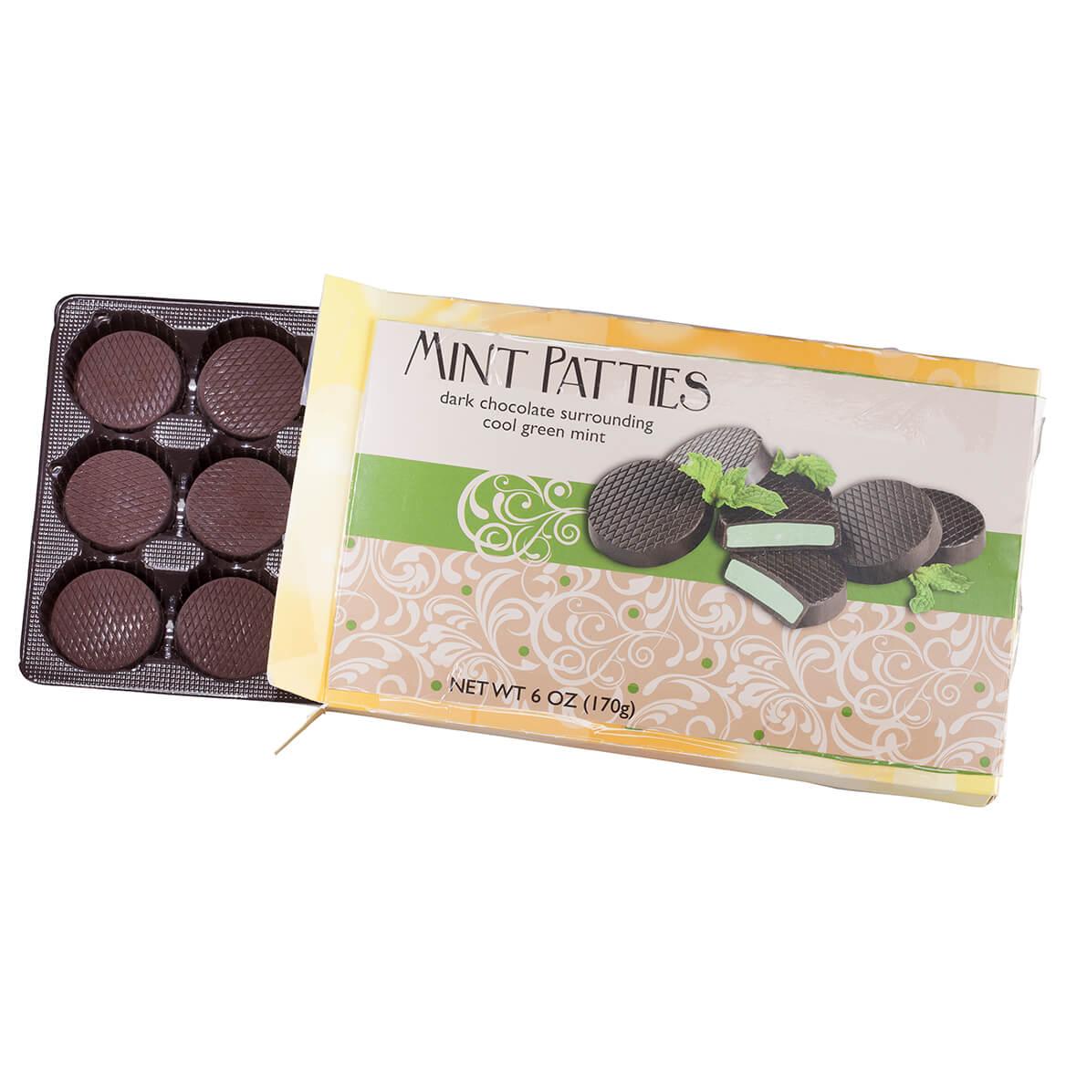 Dark Chocolate Mint Patties, 6 oz.-365740