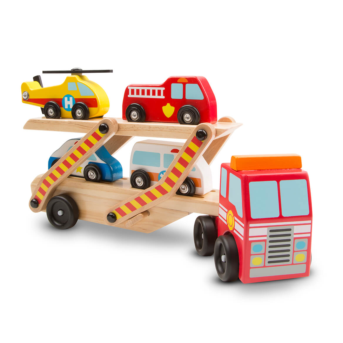 Melissa & Doug® Emergency Vehicle Carrier-366298