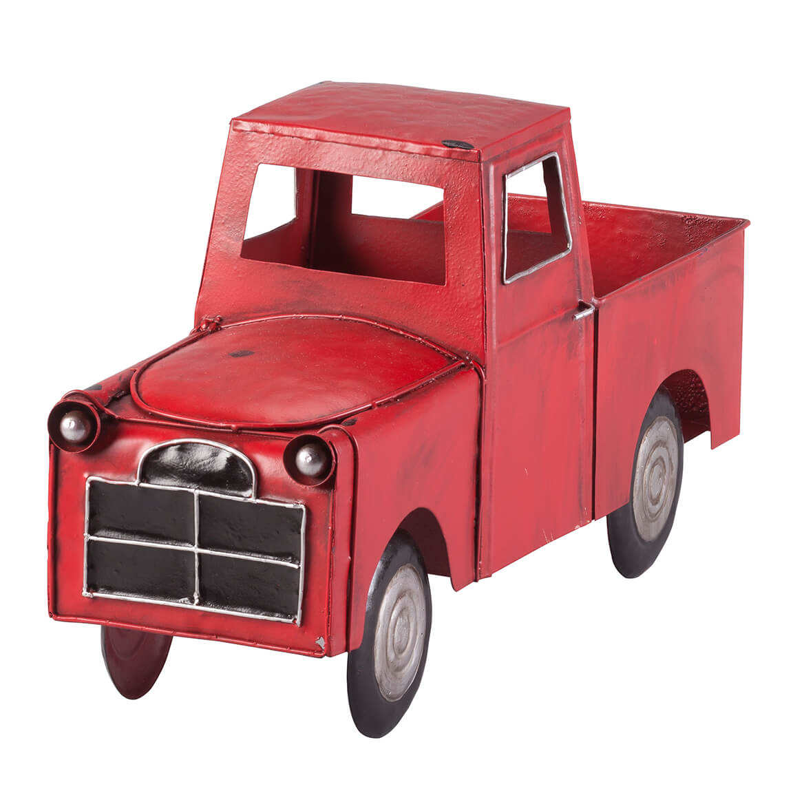 Red Metal Truck Planter by Fox River Creations™-366629