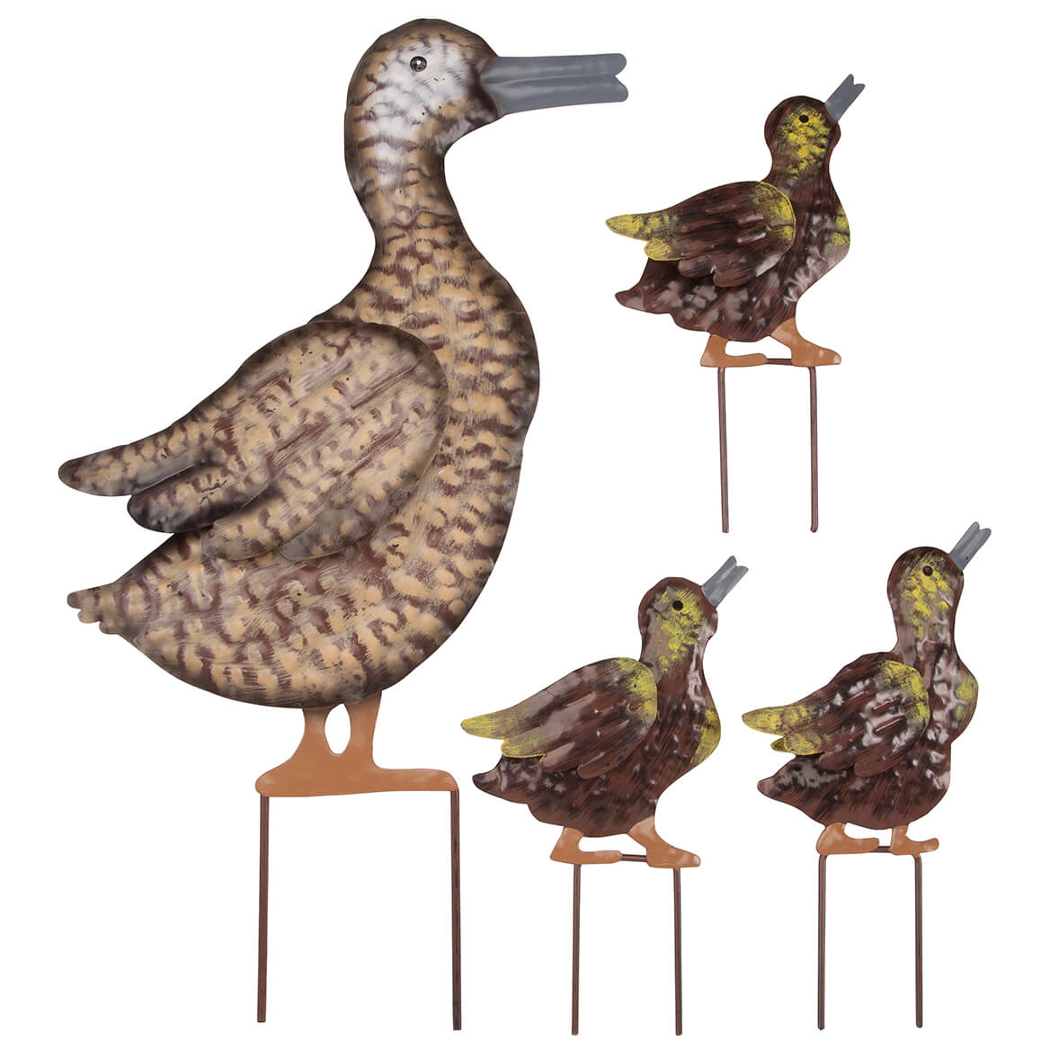 Metal Duck Family, Set of 4 by Fox River Creations™-367005