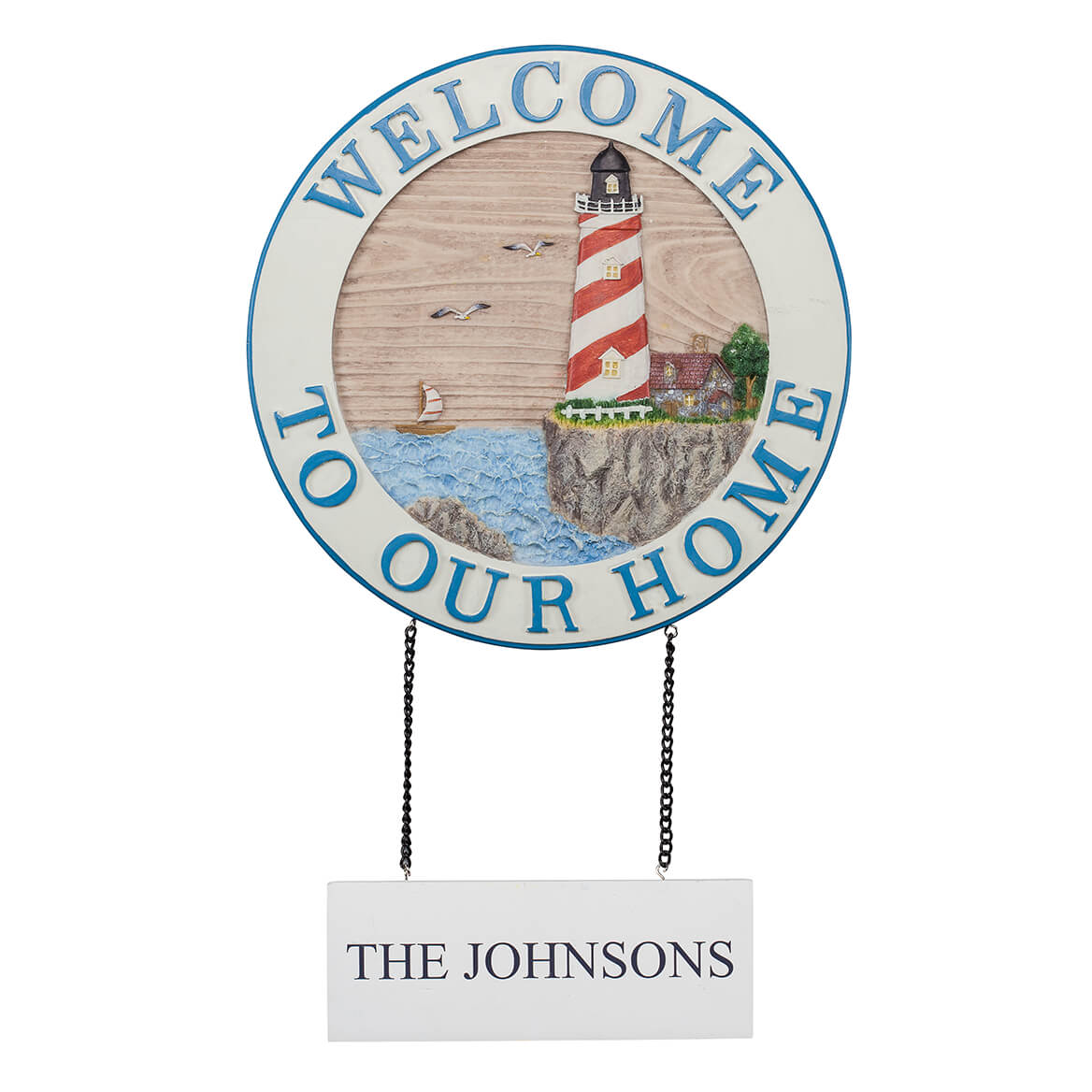 Personalized Welcome Lighthouse Sign-367024