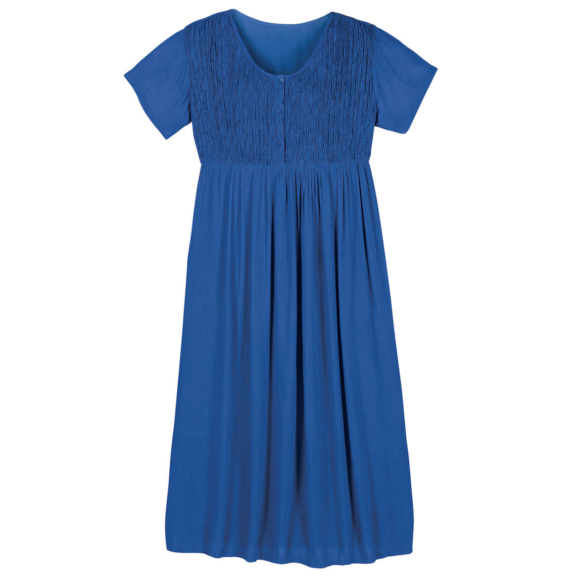 Blue Gauze Dress by Sawyer Creek-367141