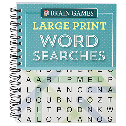 photo relating to Free Printable Extra Large Print Word Search named Puzzles Trivia - Miles Kimball