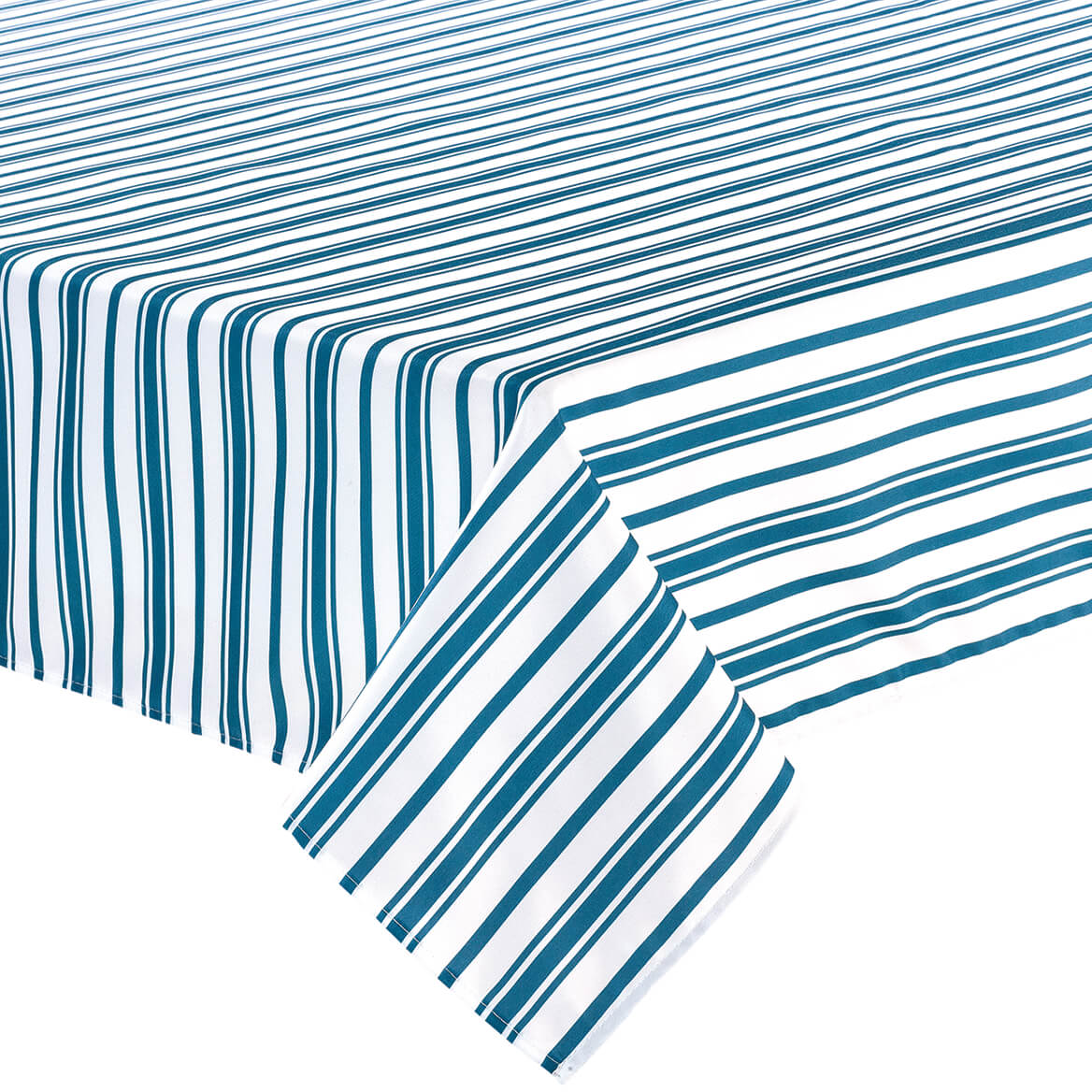 William Roberts Blue Stripe Tablecloth-367567
