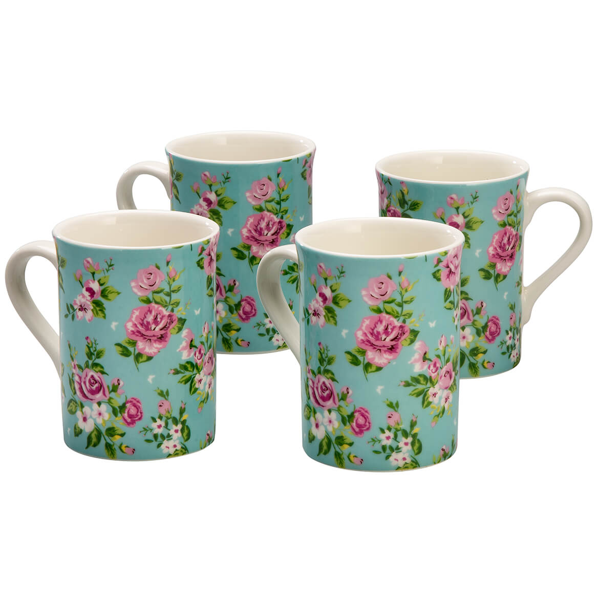 Rose Chintz Mug Set of 4 by William Roberts-368080