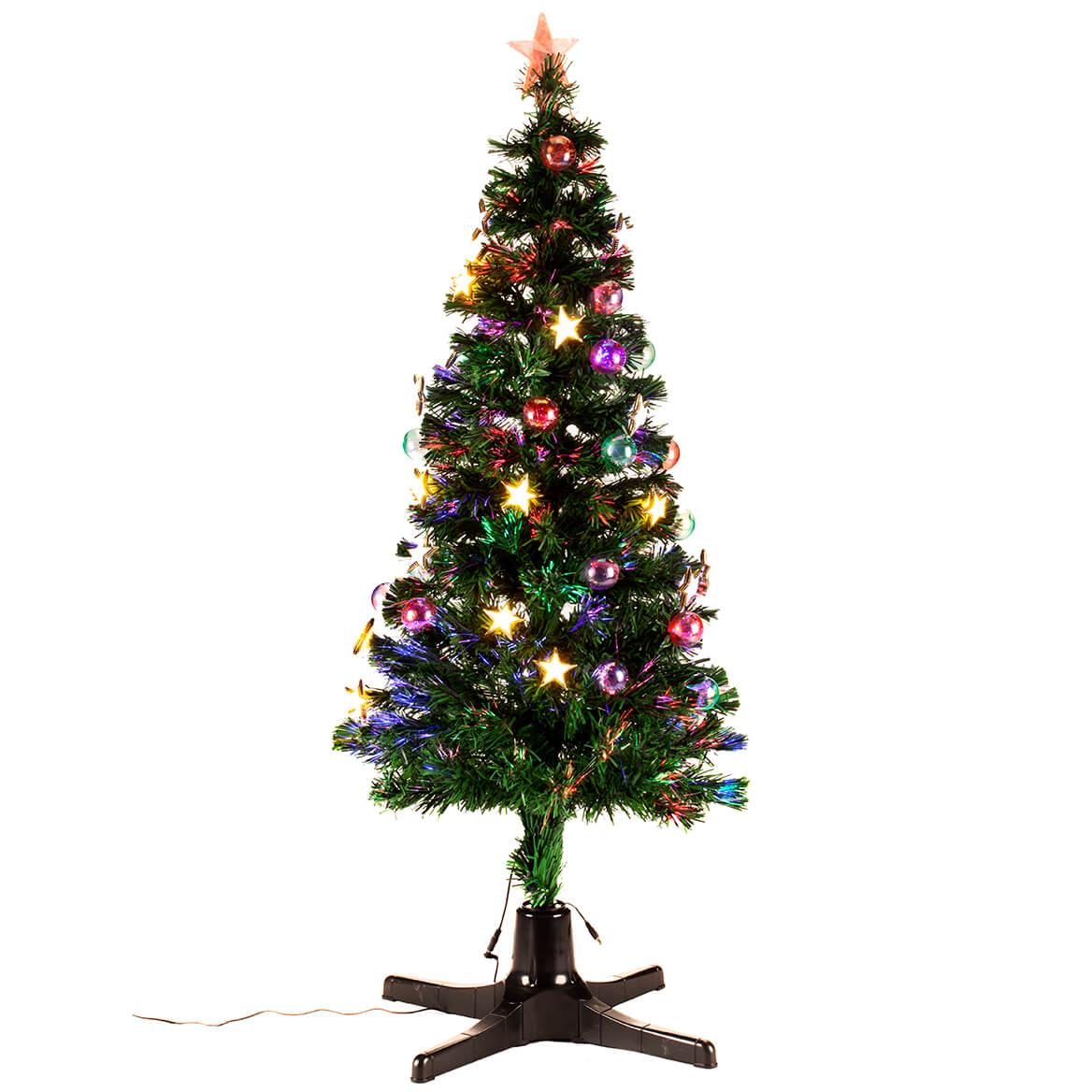 5' Spinning Fiber Optic Tree by Holiday Peak™     XL-368147