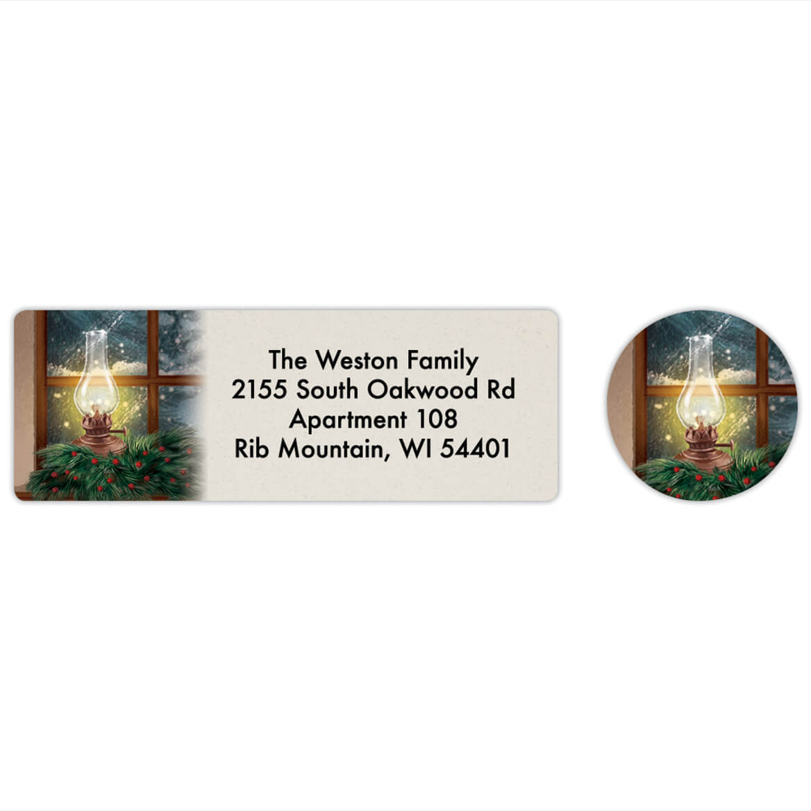 Personalized The empty Chair Labels & Seals 20-368269