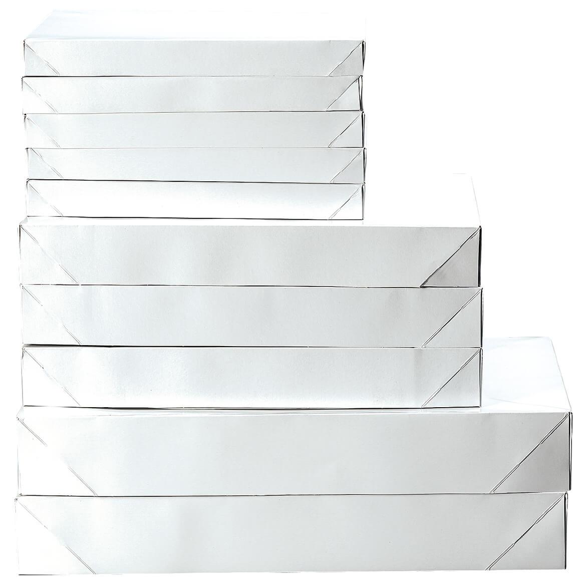 10 Pack White Gift Box Pack-368345