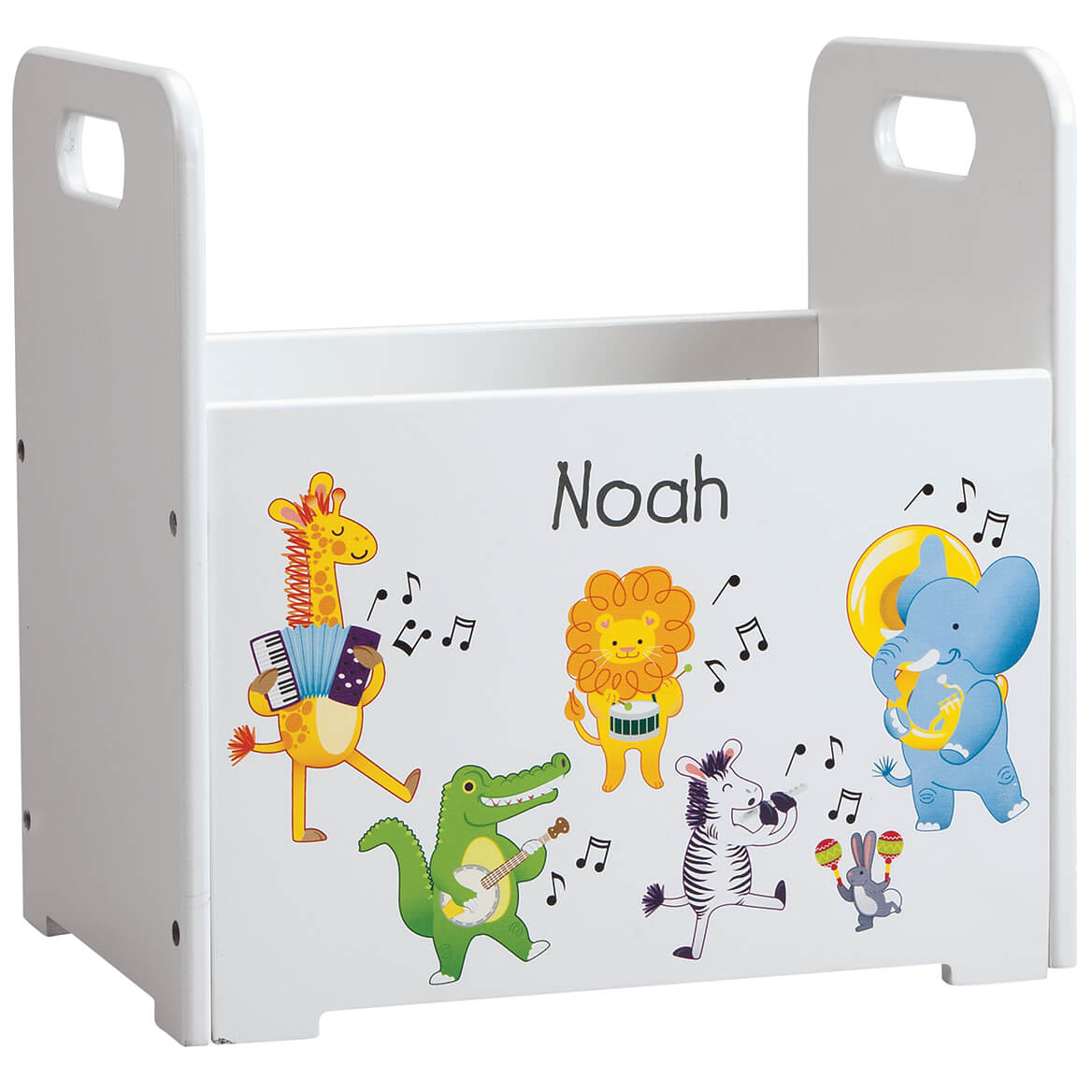 Personalized Musical Animals Book Caddy-368444