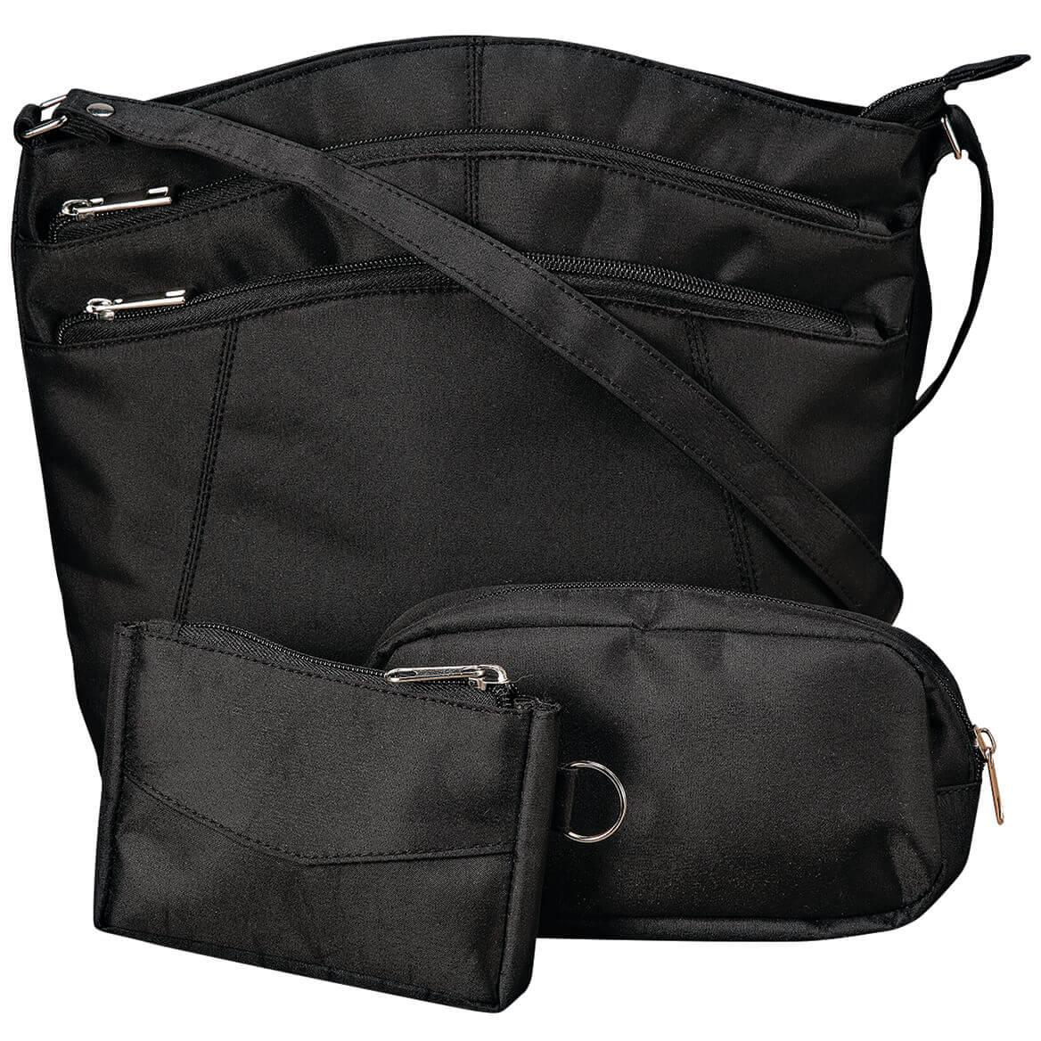 Sophia Microfiber 3 Pc Handbag Set-368467