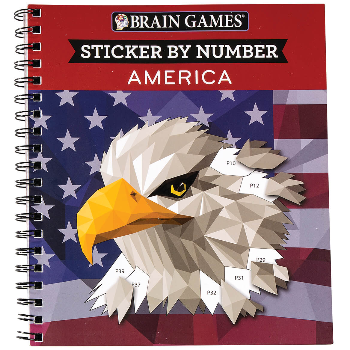 Brain Games® Sticker-by-Number America-368745