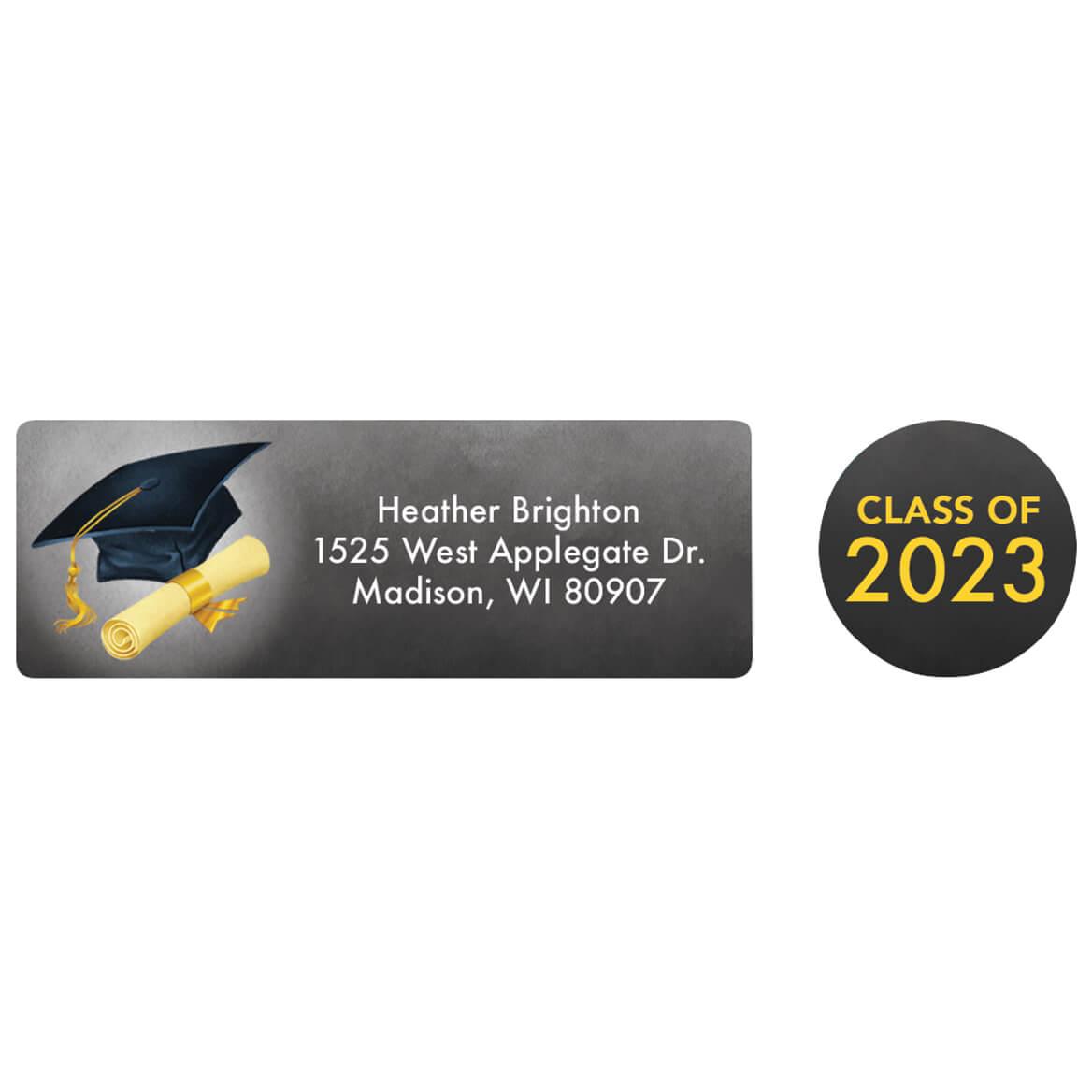Personalized Graduation Labels & Seals 60-369011