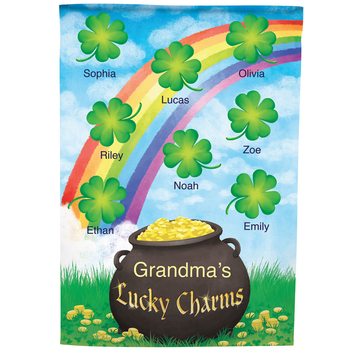 Personalized St. Patrick's Day Garden Flag-369065