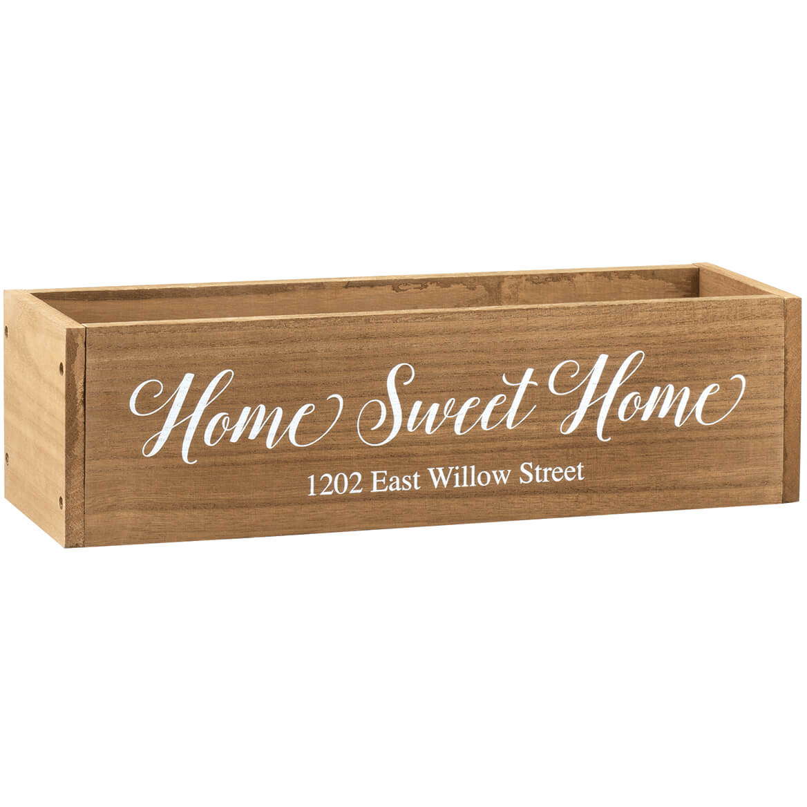 Personalized Wooden Planter Box, Home Sweet Home-369261