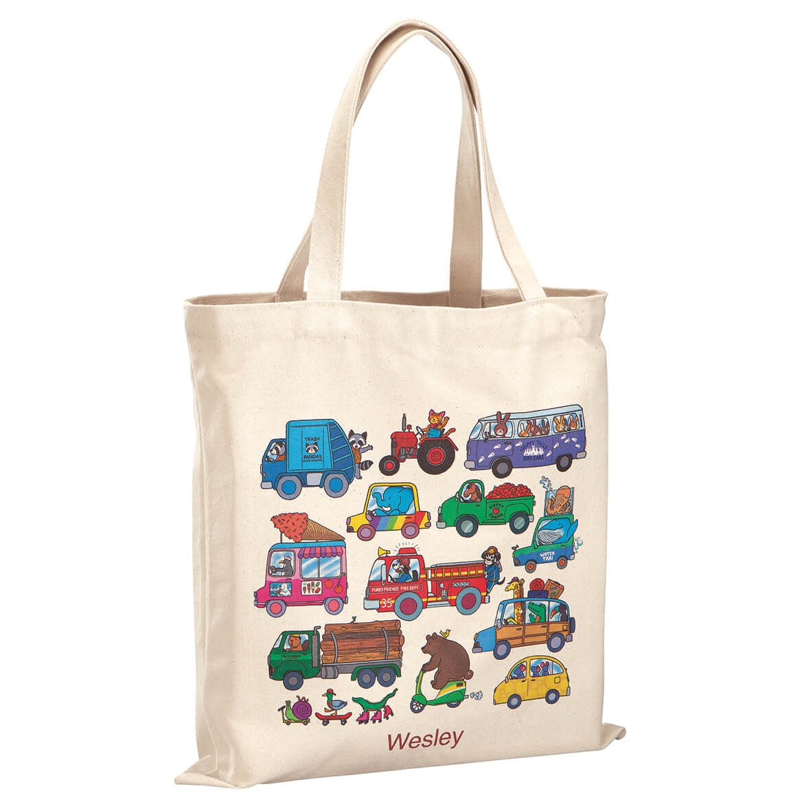 Personalized Animals and Automobiles Children's Tote-369270