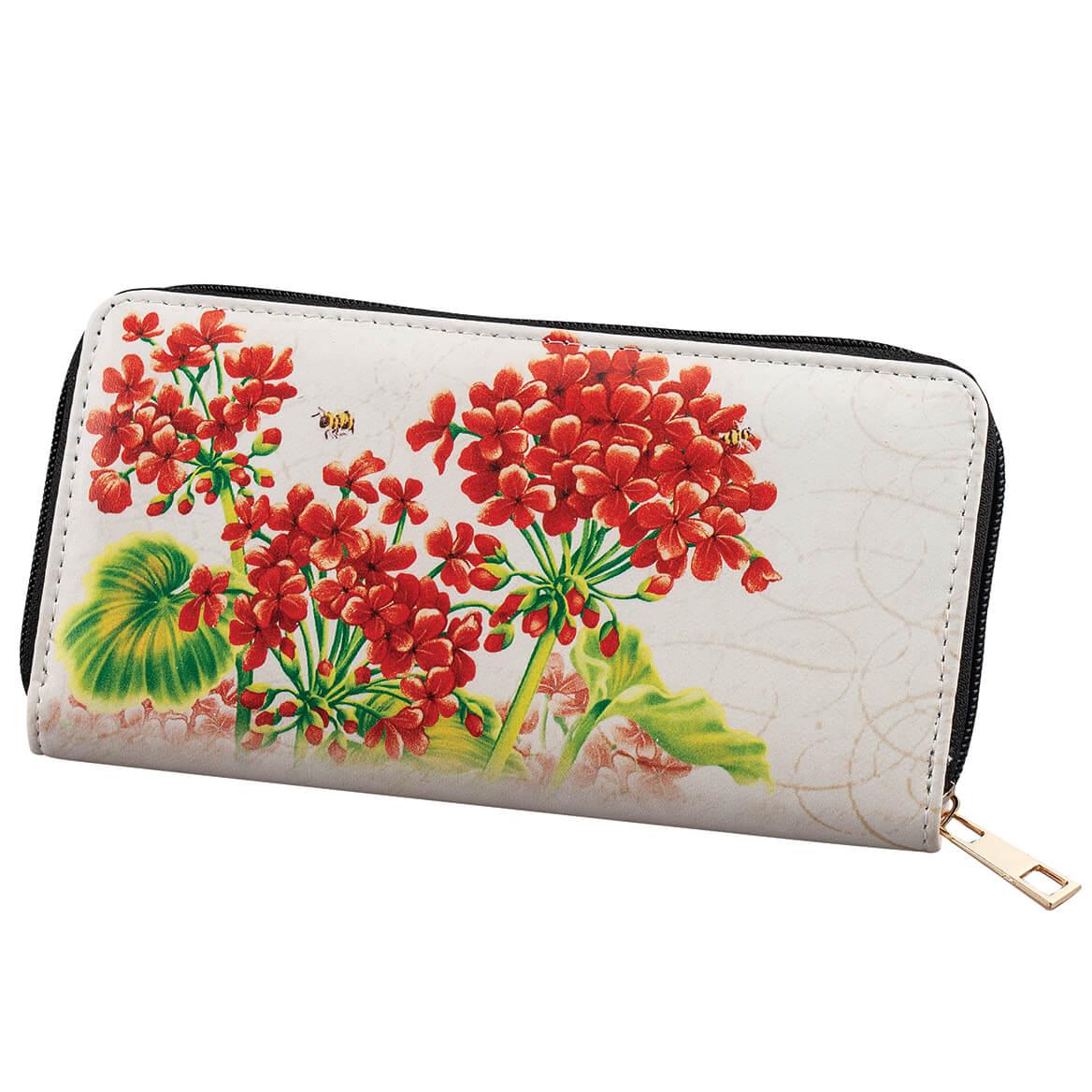 Designer Wallet Geraniums-369374