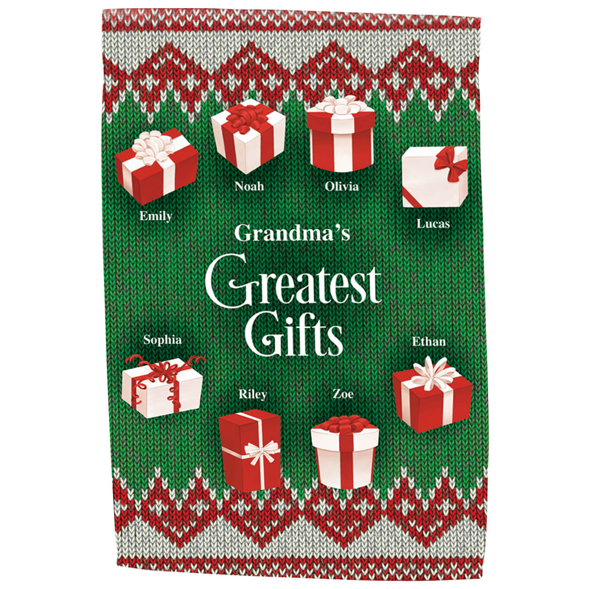 Personalized Greatest Gifts Garden Flag-369483