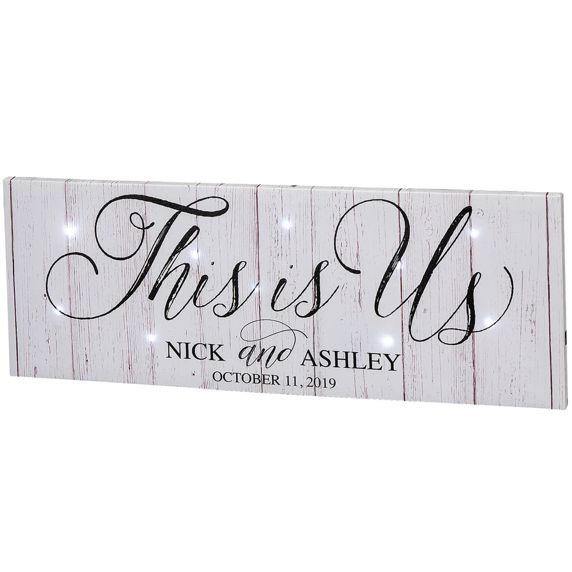 Personalized This is Us Lighted Canvas-369485