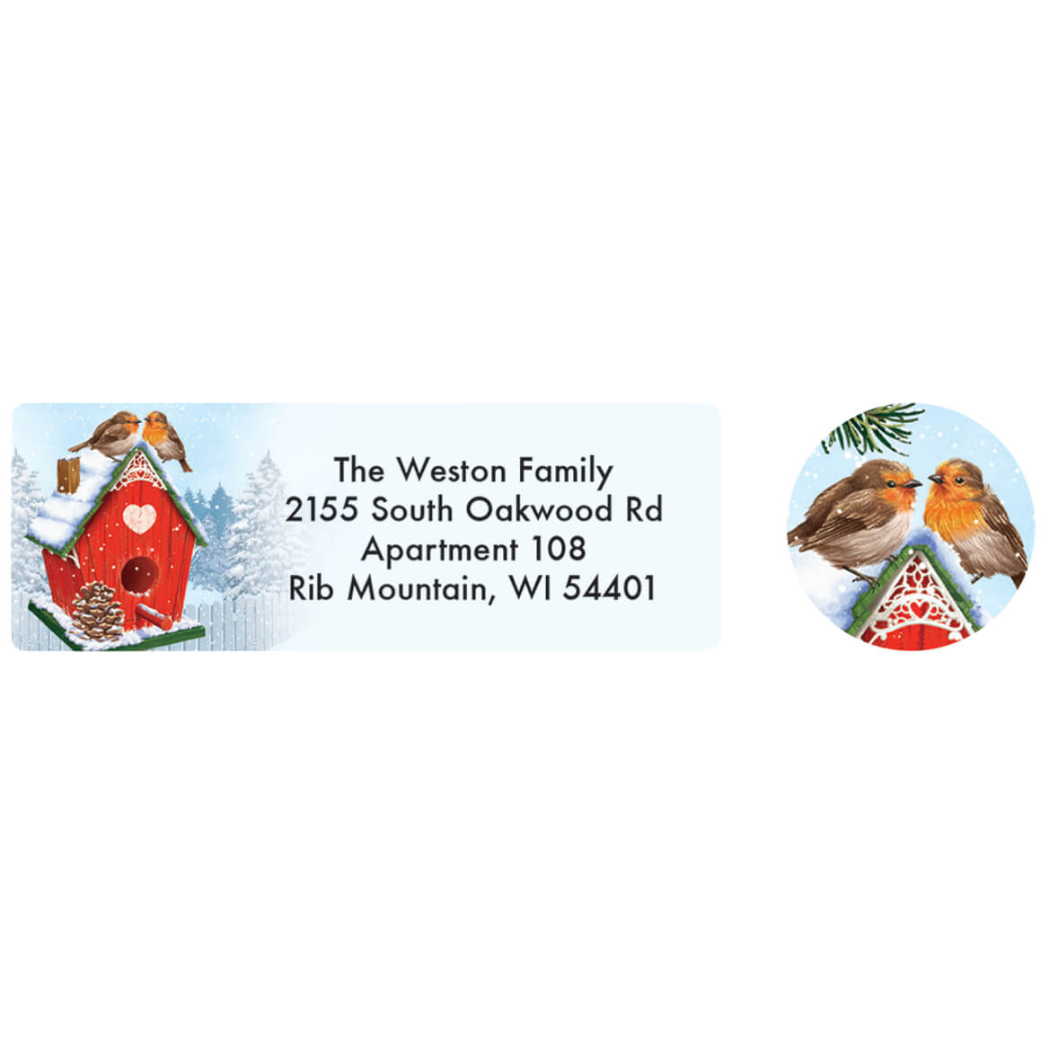 Personalized Our Years Together Labels and Seals 20-370166