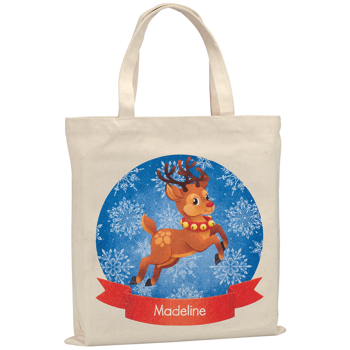 Personalized Childrens Reindeer Tote-370317
