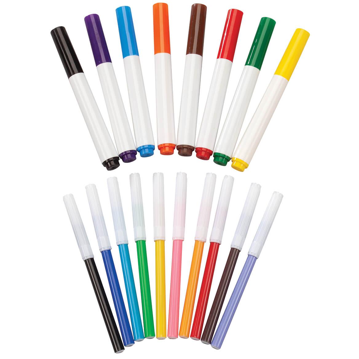 Broad & Fine Line Markers Set of 18-370334