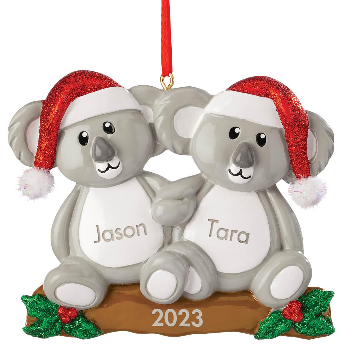 Personalized Koala Couple Ornament-370465