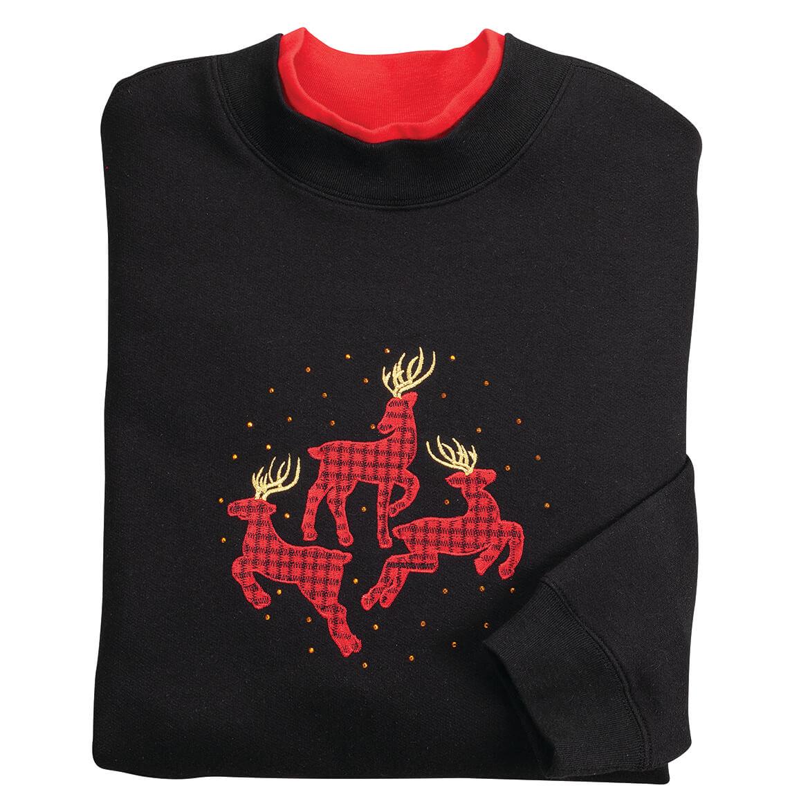 Dancing Deer Sweatshirt by Sawyer Creek™-370648