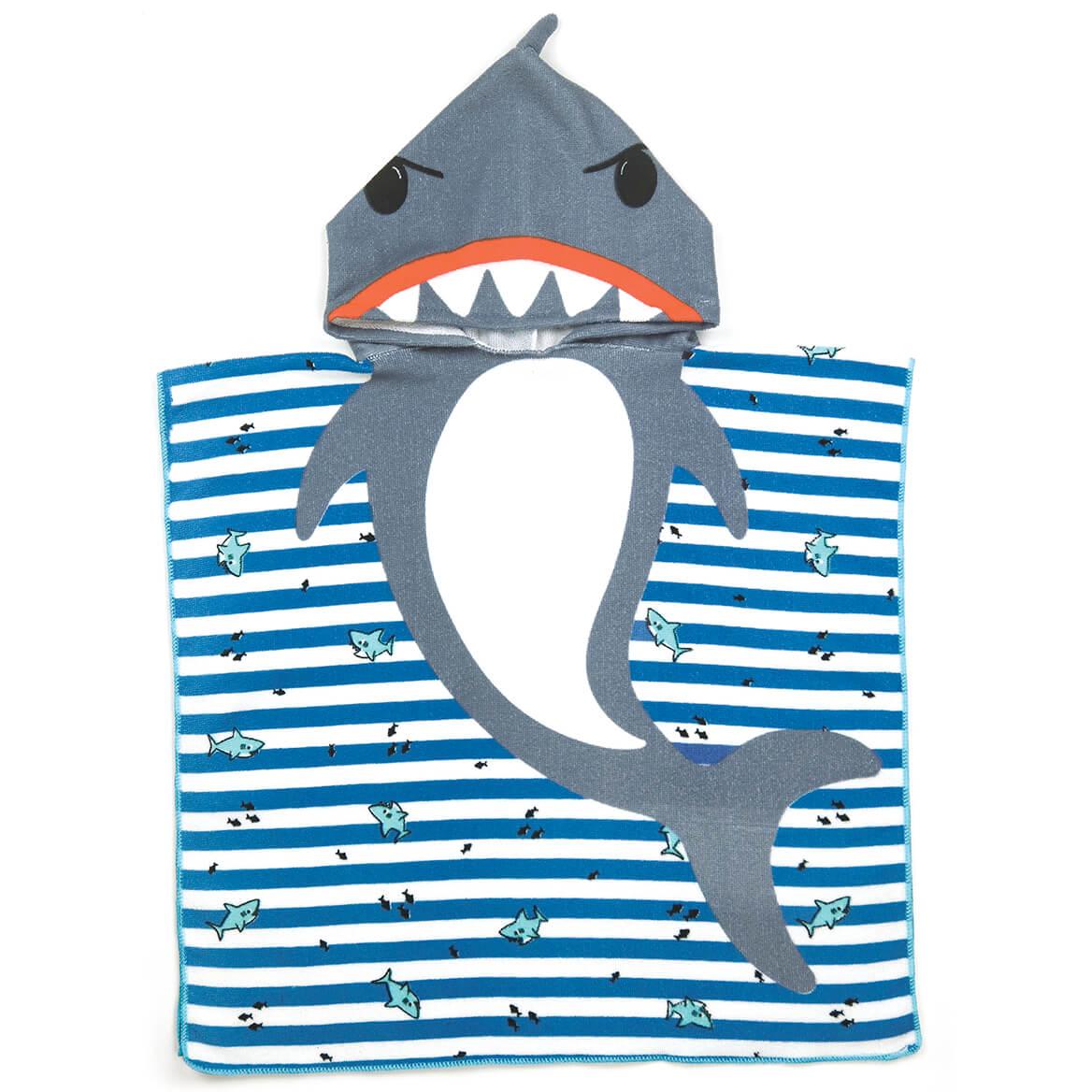 Children's Shark Hooded Towel-370659