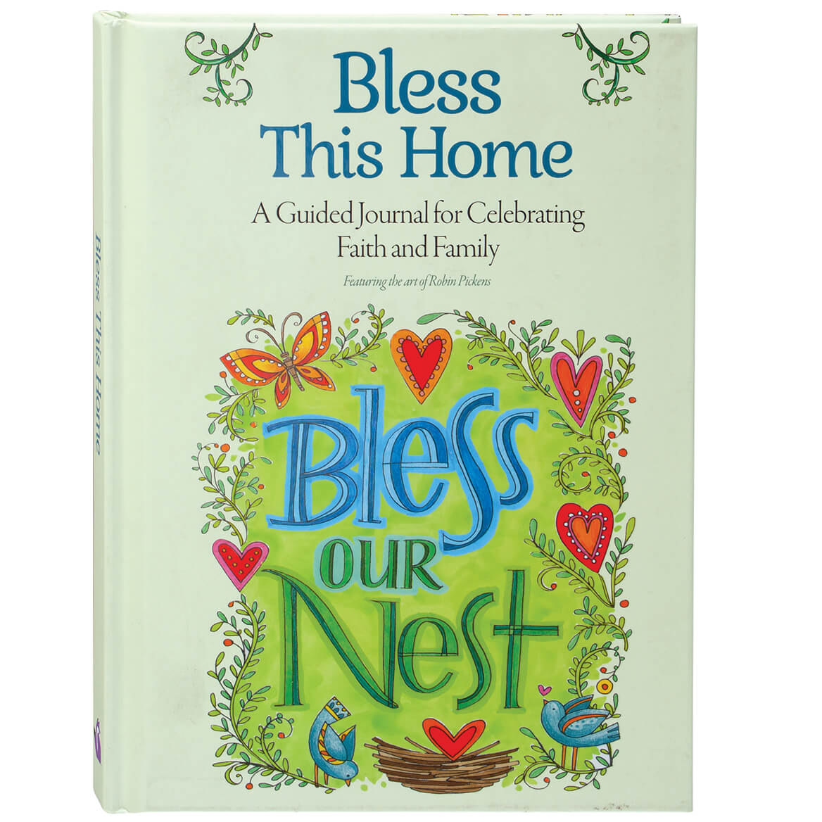 Bless This Home: A Guided Journal for Celebrating Faith and Family-370719