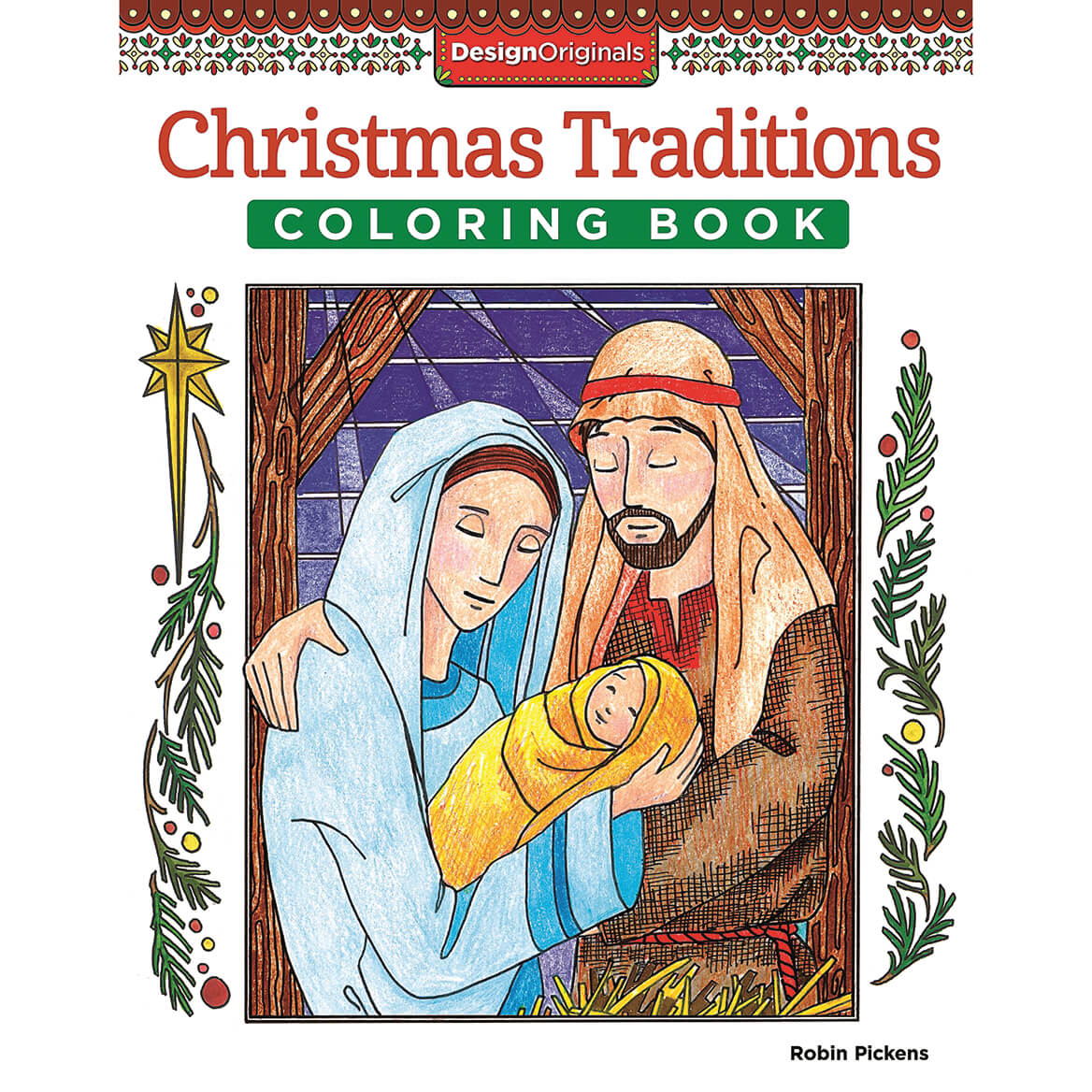 Christmas Traditions Coloring Book-370720