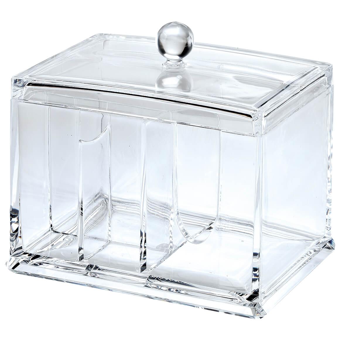Lidded Acrylic Cosmetic Organizer-370728