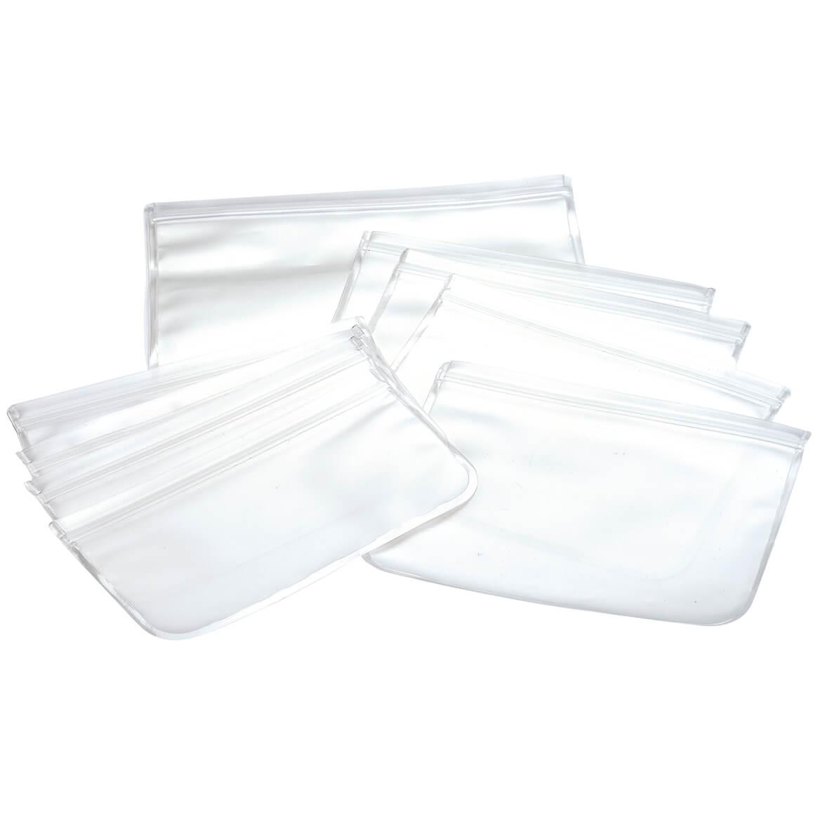 10-Piece Reusable Silicone Storage Bags-370752