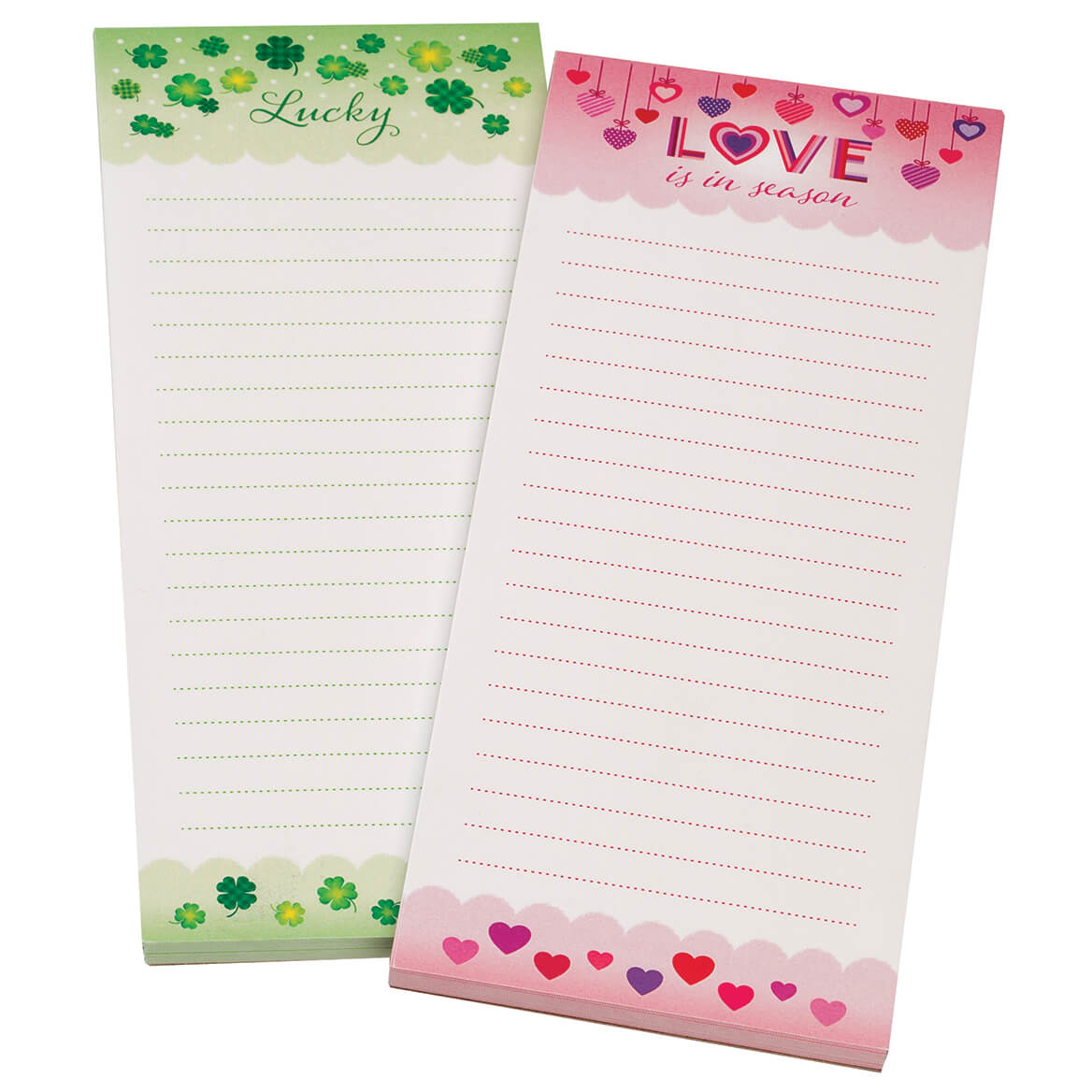 Hearts and Shamrocks Note Pads Set of 2-370913