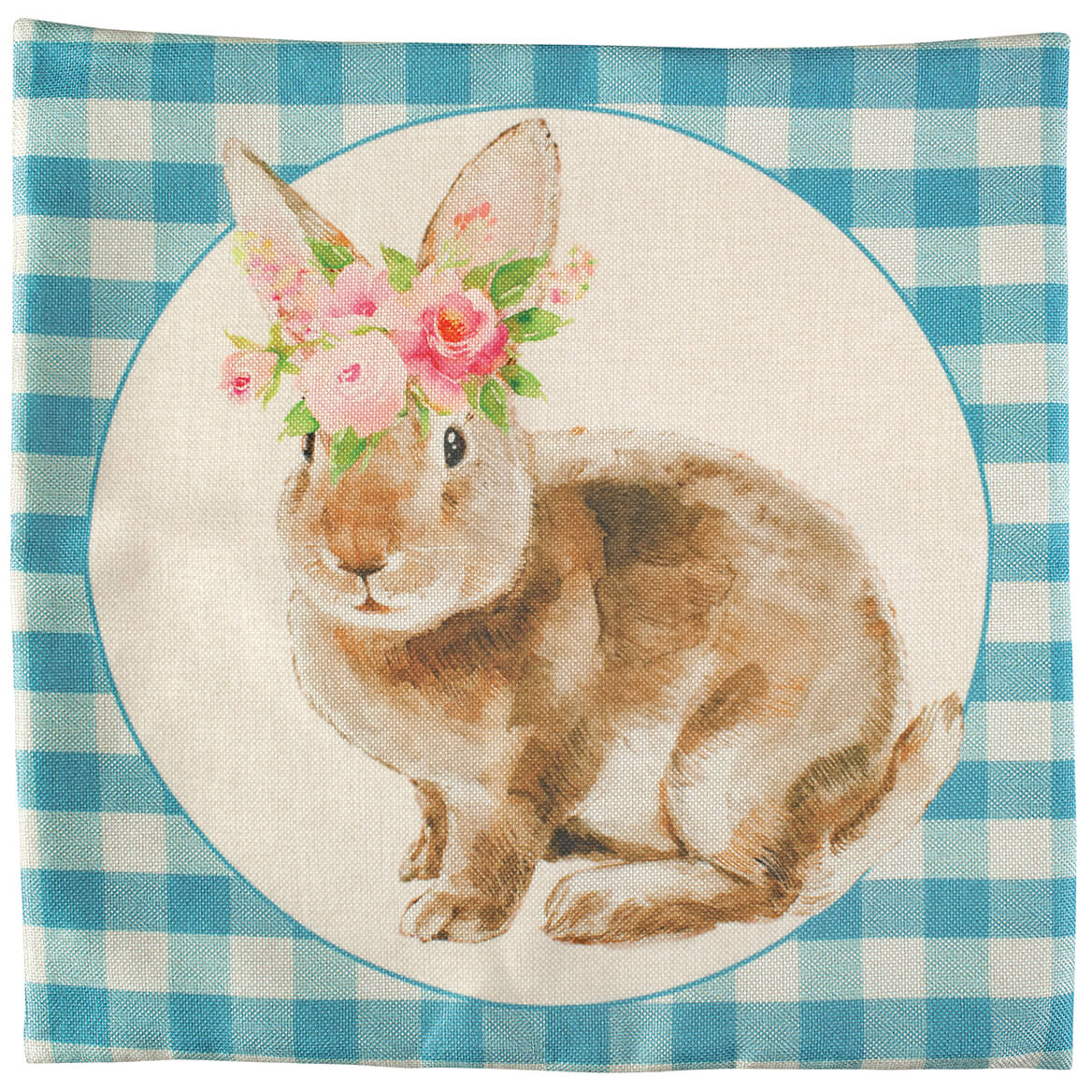 Spring Bunny Accent Pillow Cover-371036