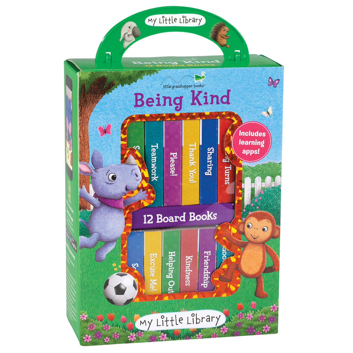 """My Little Library """"Being Kind"""" Box, Set of 12-371212"""